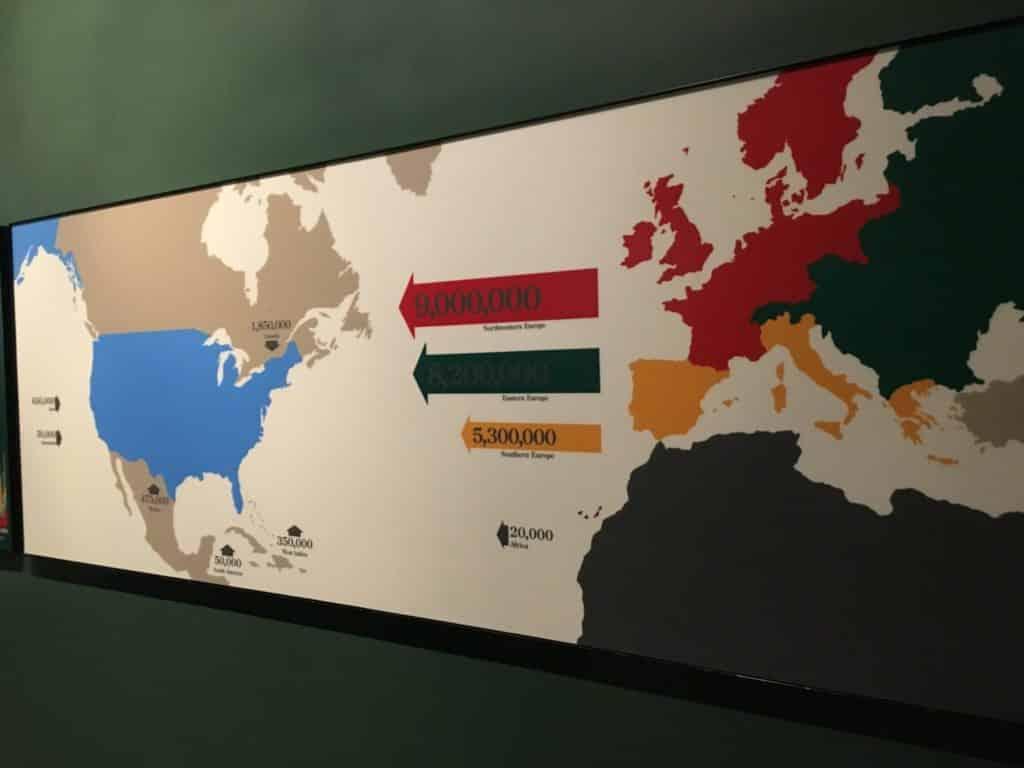アメリカ 移民 歴史