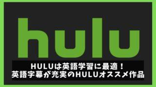 Huluは英語学習にオススメ!英語字幕付の初心者向けアニメ・ドラマ紹介