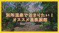 【2020】別所温泉で泊まりたい!オススメ旅館7選